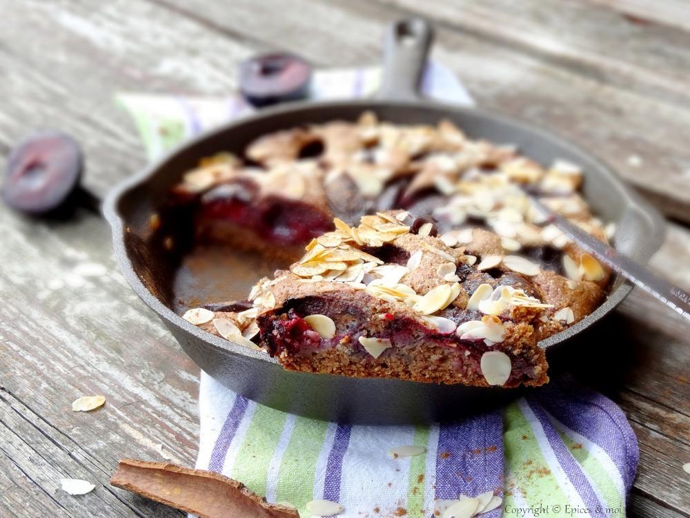 Epices & moi Gâteau prunes 1