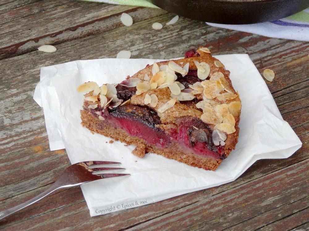 Epices & moi Gâteau prunes 2