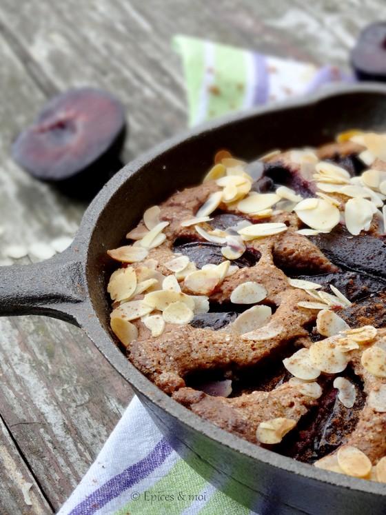 Epices & moi Gâteau prunes 4