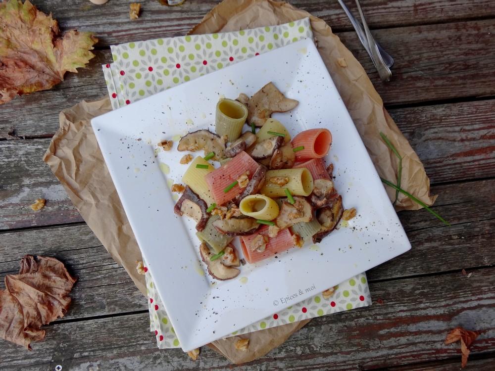 Epices & moi Pâtes huile truffes 1