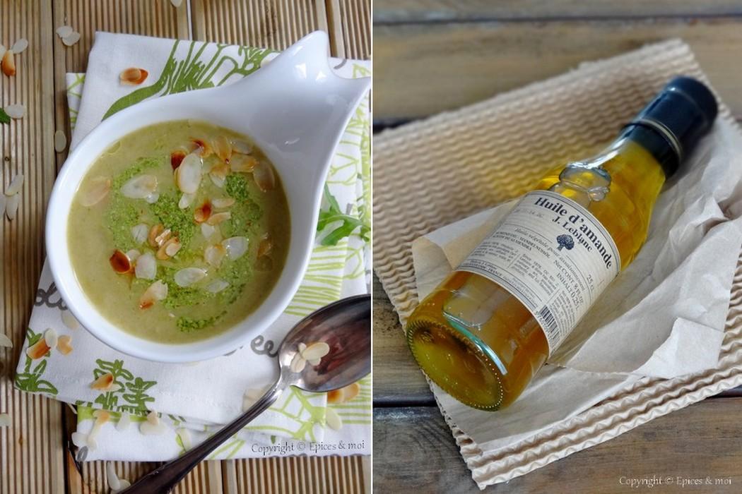 Epices & moi Crème poireaux amandes 10
