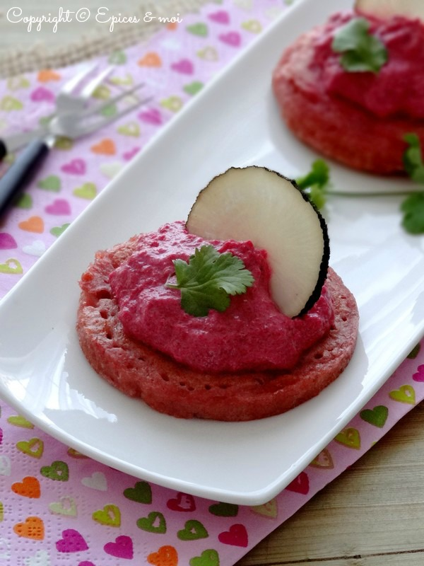 Epices & moi Blinis roses 3