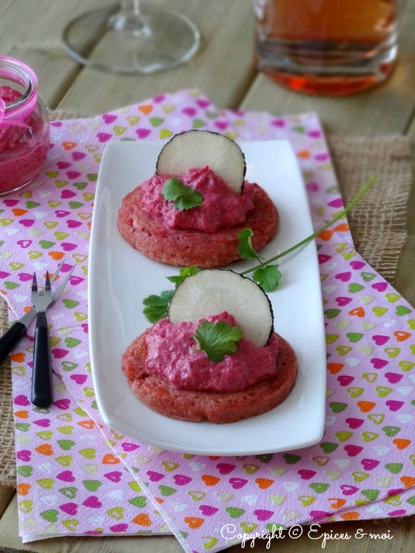 Epices & moi Blinis roses 6