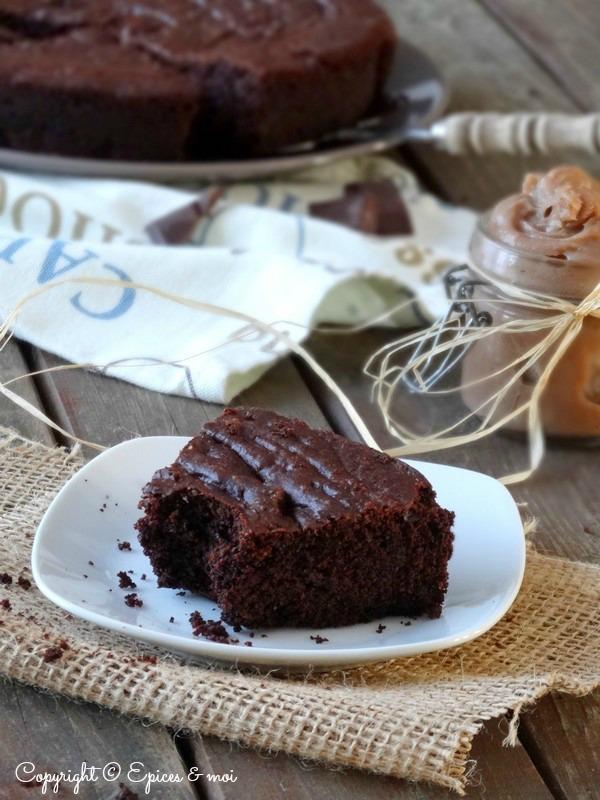Epices & moi Fondant chocolat marrons 1