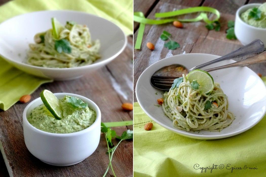 Epices & moi Spaghetti avocat citron 11-1