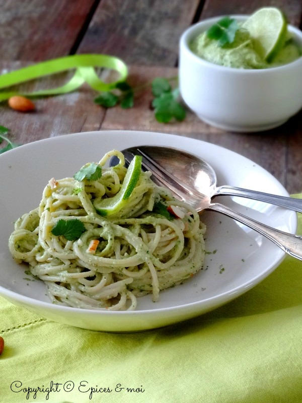 Epices & moi Spaghetti avocat citron 2