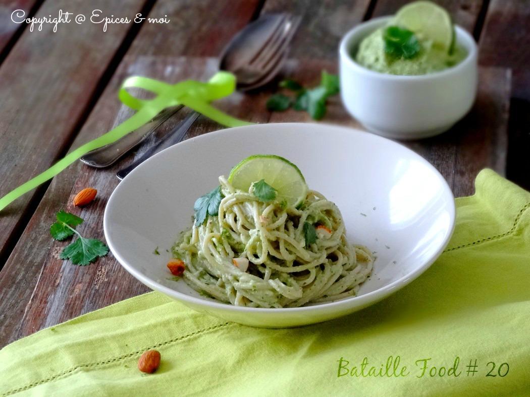 Epices & moi Spaghetti avocat citron 6