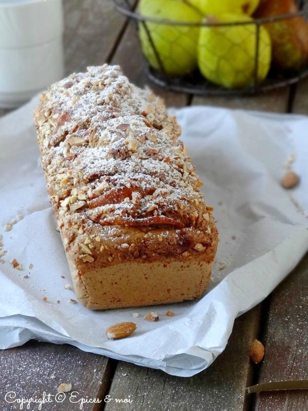 Epices & moi Cake poires amandes 1