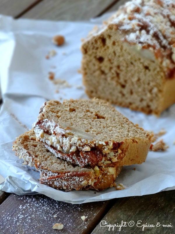 Epices & moi Cake poires amandes 4