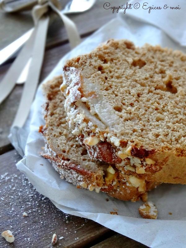 Epices & moi Cake poires amandes 6