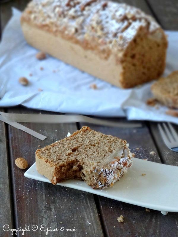Epices & moi Cake poires amandes 7