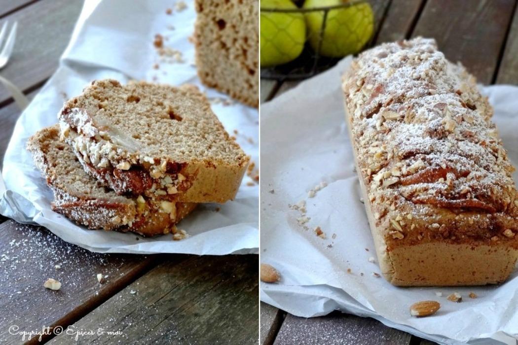 Epices & moi Cake poires amandes 9
