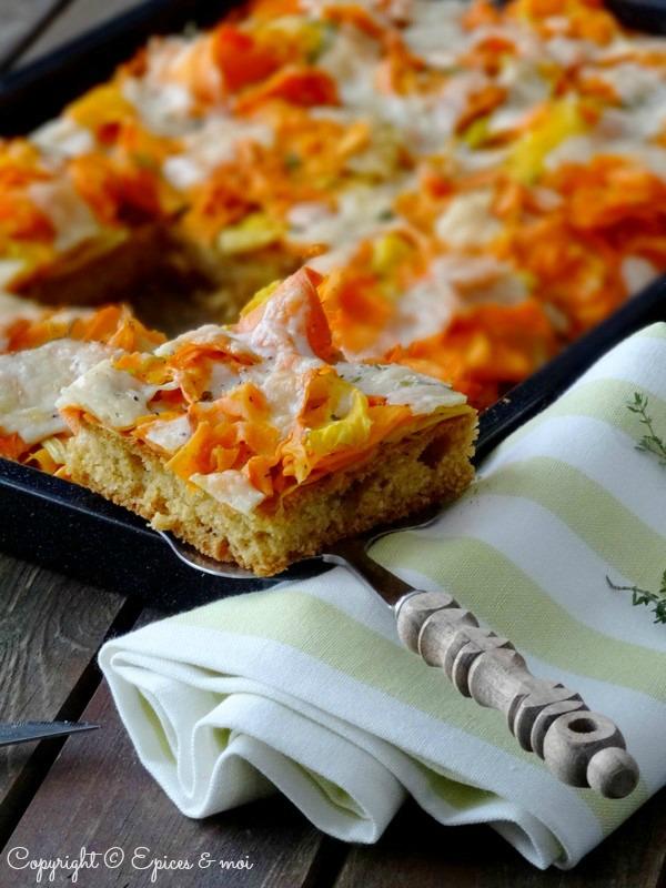 Epices & moi Pain de maïs carottes 2