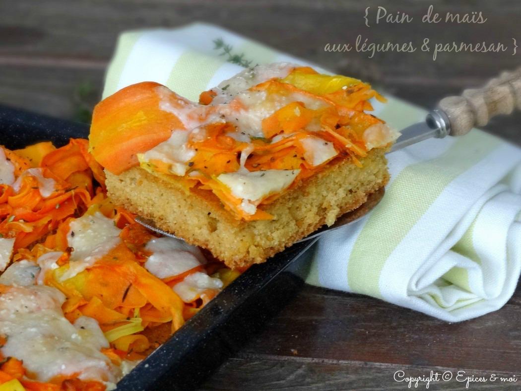 Epices & moi Pain de maïs carottes 3