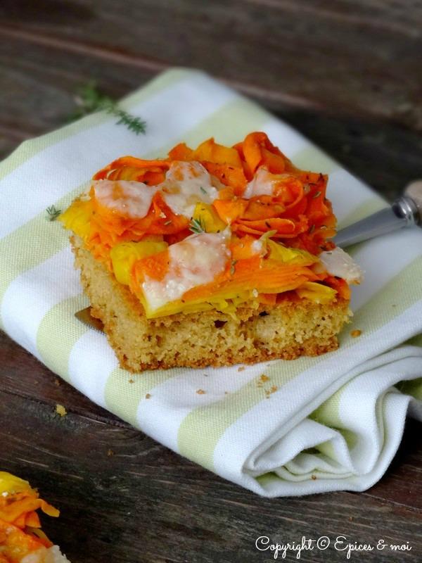 Epices & moi Pain de maïs carottes 4