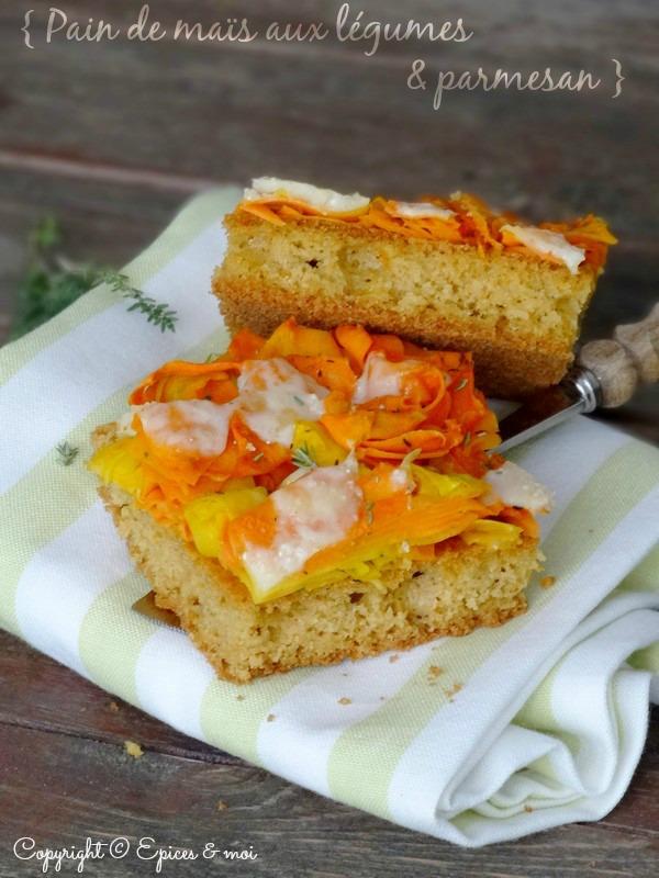 Epices & moi Pain de maïs carottes 5