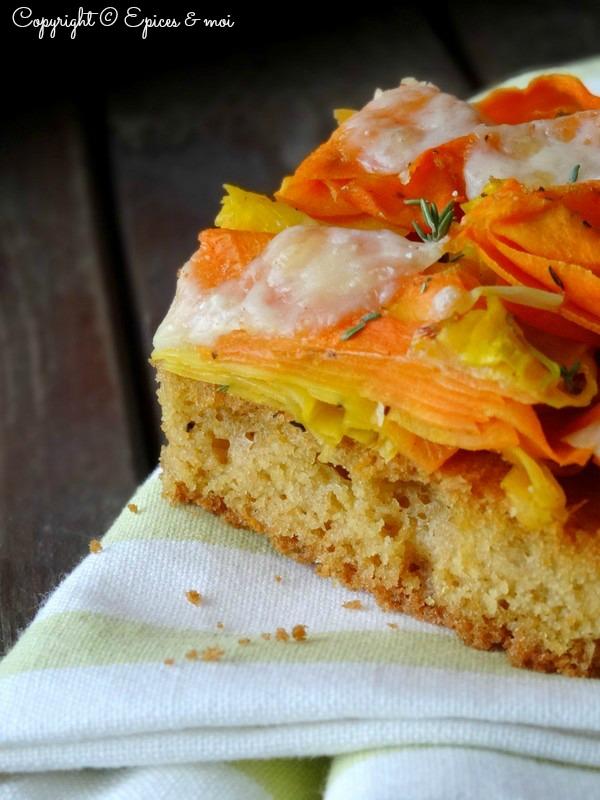 Epices & moi Pain de maïs carottes 6