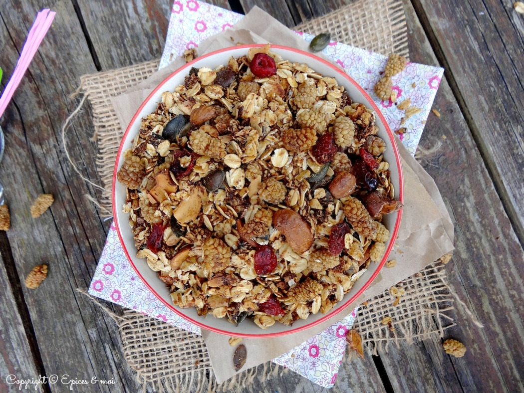 Epices & moi Granola mulberries 4