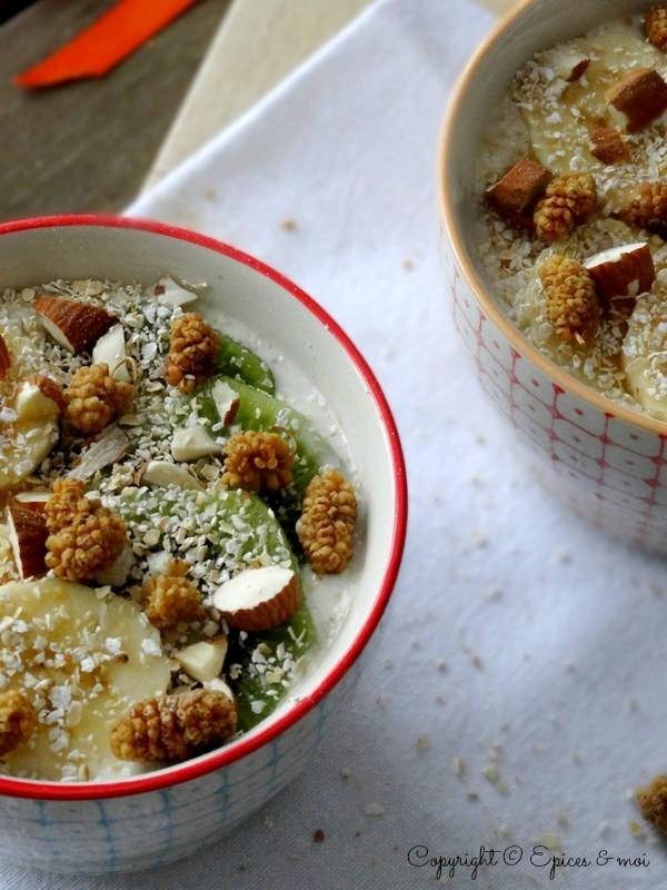 Epices & moi Petit déjeuner amandes-coco 4