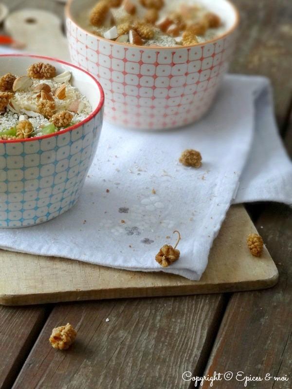 Epices & moi Petit déjeuner amandes-coco 7