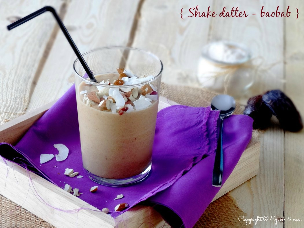 Epices & moi Shake dattes baobab 4