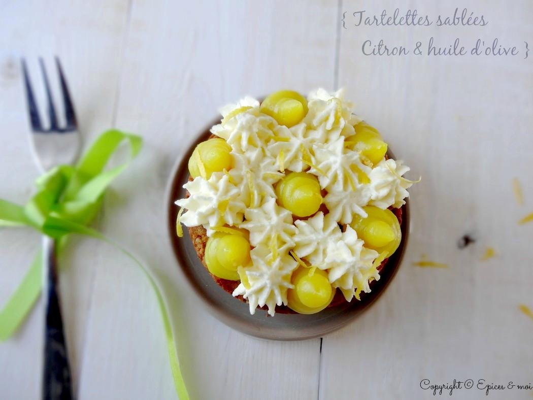Epices & moi Tartelettes citron huile d'olive 2