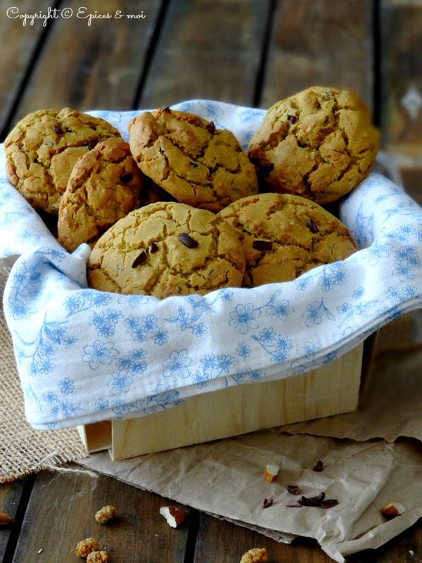 Epices & moi Cookies amandes mulberries 2