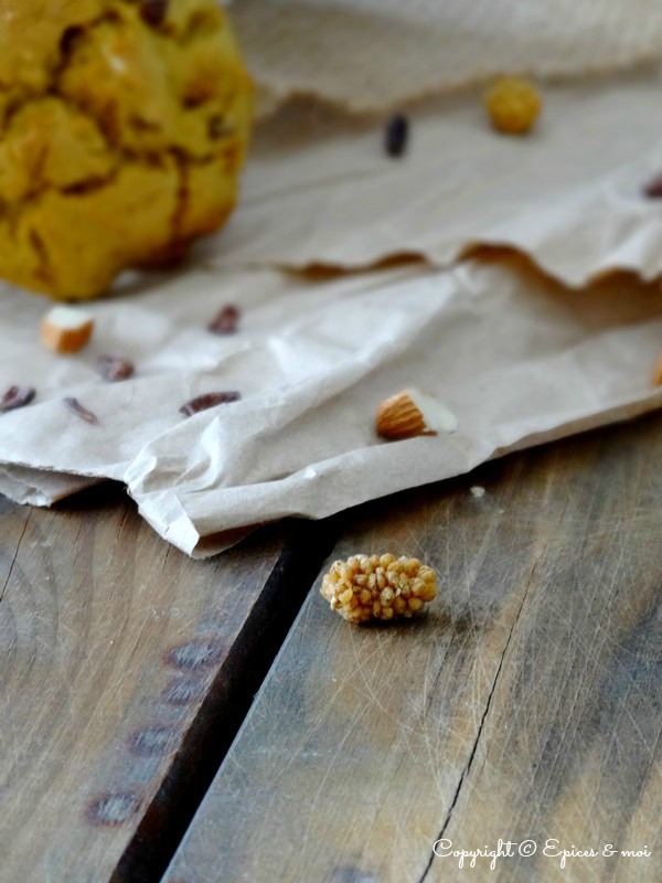 Epices & moi Cookies amandes mulberries 7''