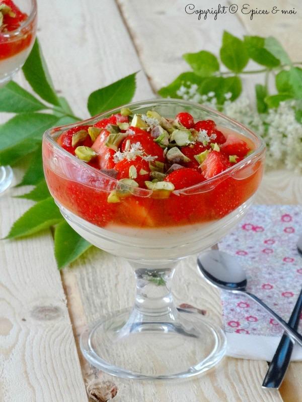 Epices & moi Crème sureau tartare fraises 4