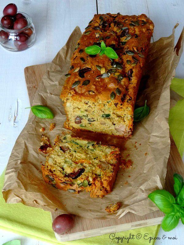 Epices & moi Cake olives tofu 6'