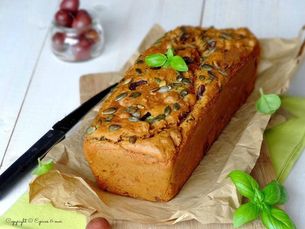Epices & moi Cake tofu olives 1