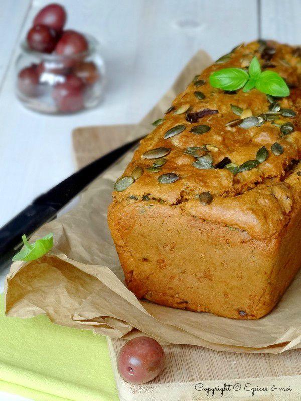 Epices & moi Cake tofu olives 2