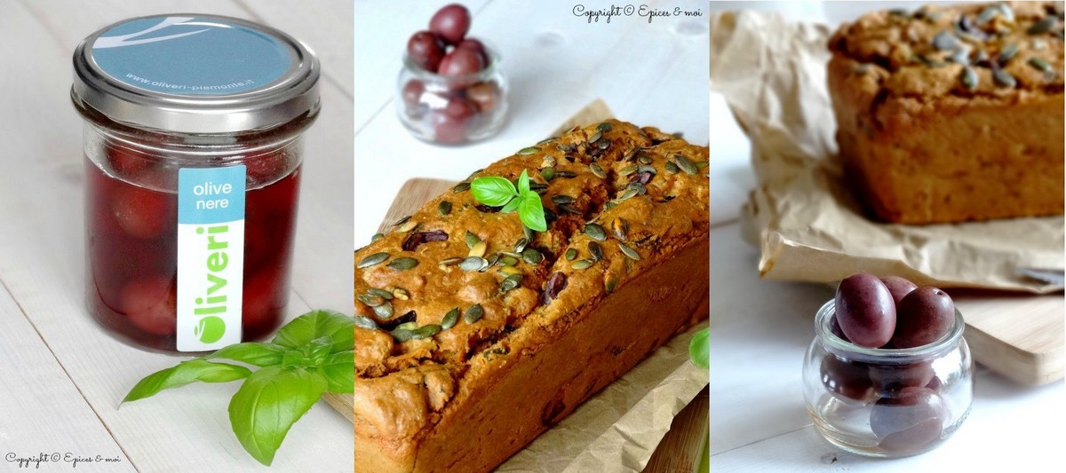 Epices & moi Cake tofu olives 4'