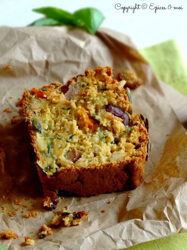 Epices & moi Cake tofu olives 5