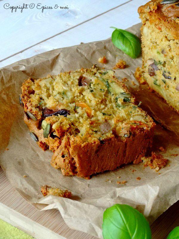 Epices & moi Cake tofu olives 7
