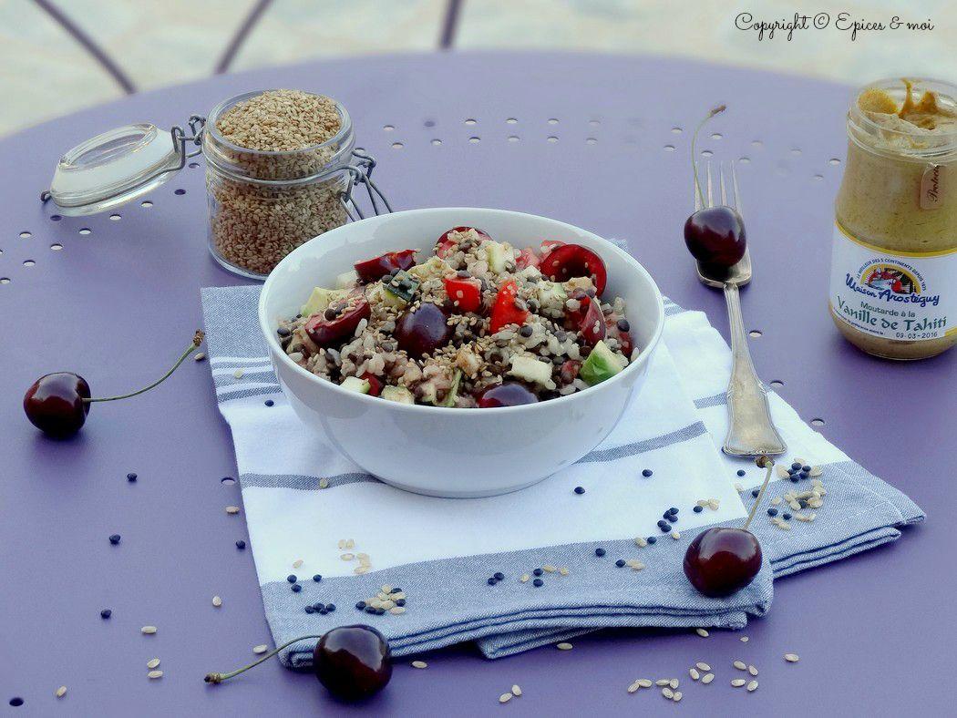 Epices & moi Salade beluga riz 1