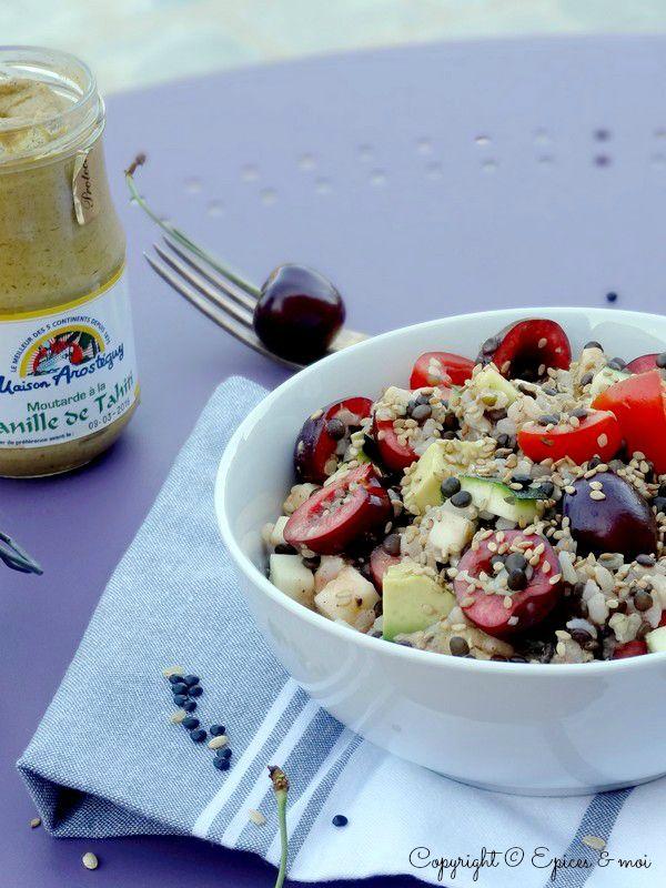 Epices & moi Salade beluga riz 2