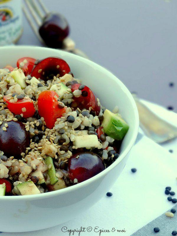 Epices & moi Salade beluga riz 4