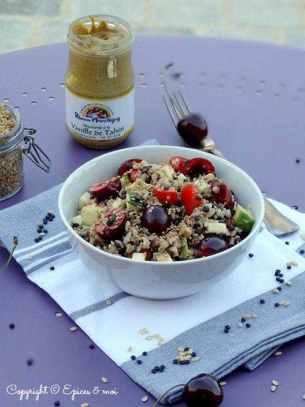 Epices & moi Salade beluga riz 5