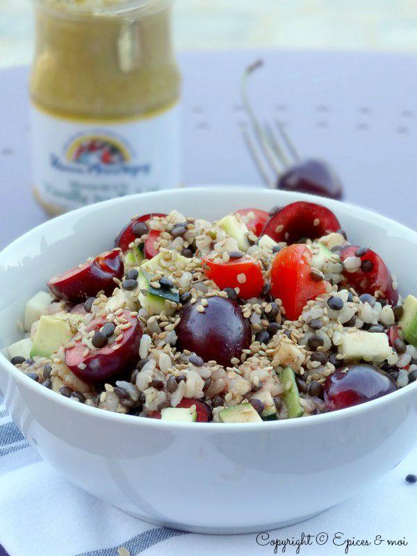 Epices & moi Salade beluga riz 6