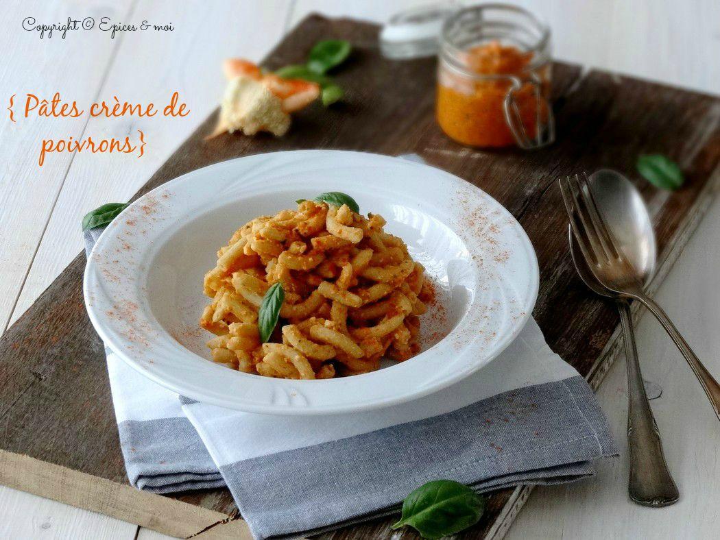 Epices & moi Sedanini à la crème de poivrons 3