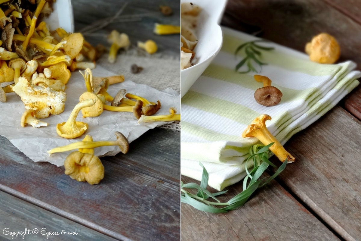 Epices & moi Tagliatelle champignons 5