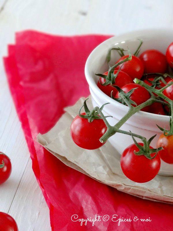 Epices & moi Tarte tomates crumble pesto 3'