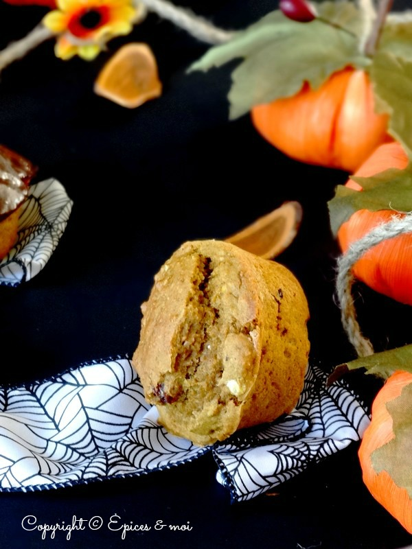 Epices & moi Pumpkin spice muffins 3