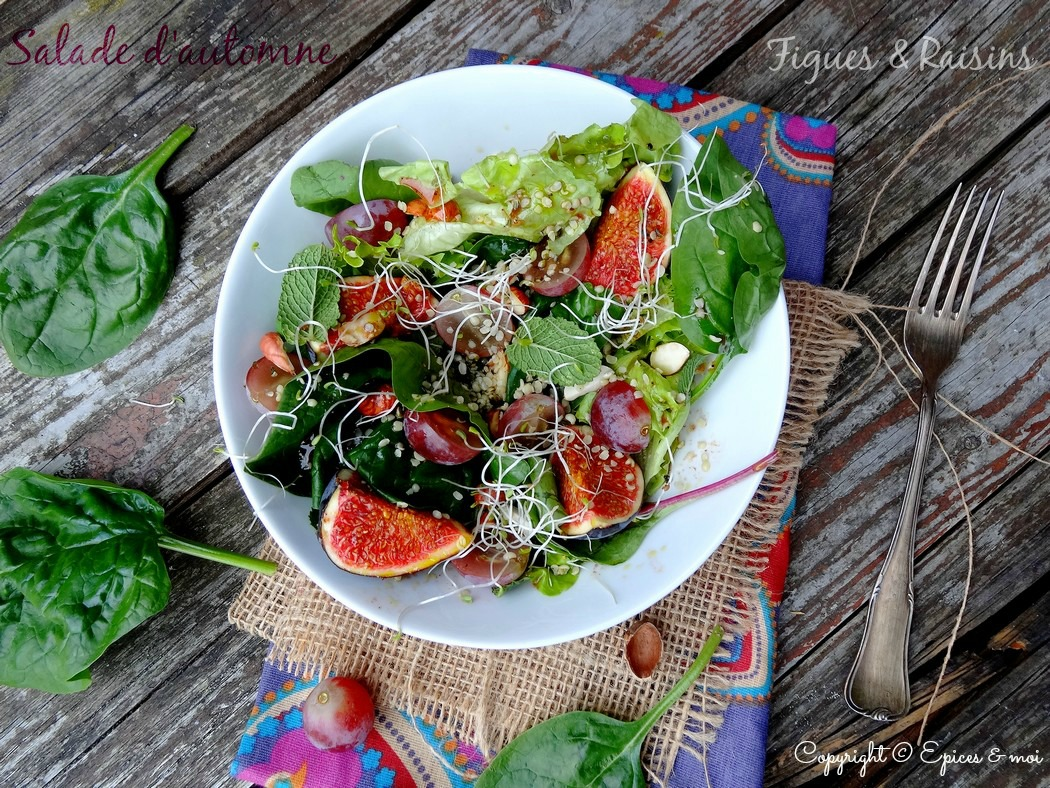 Epices & moi Salade automne 4
