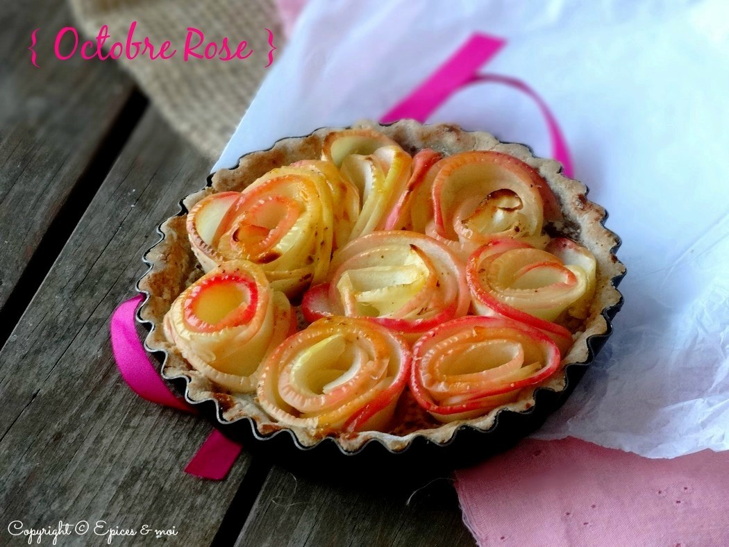 Epices & moi Tartelettes pommes roses 1
