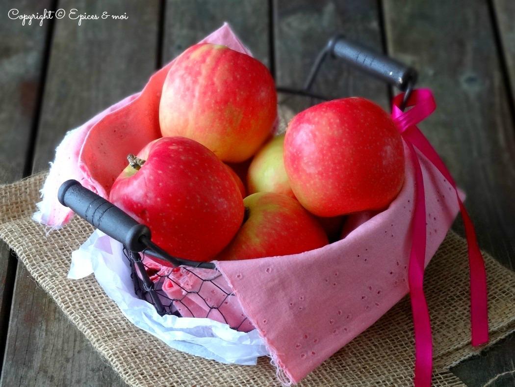 Epices & moi Tartelettes pommes roses 5