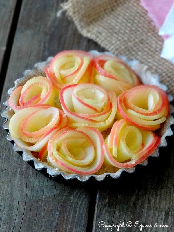 Epices & moi Tartelettes pommes roses 6-1