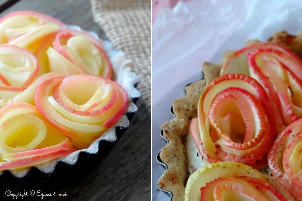 Epices & moi Tartelettes pommes roses 6