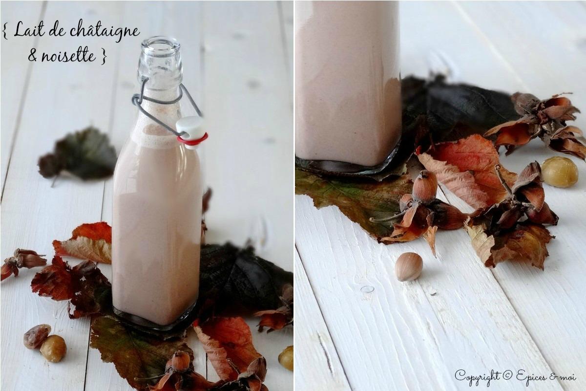Epices & moi lait châtaigne 1-2
